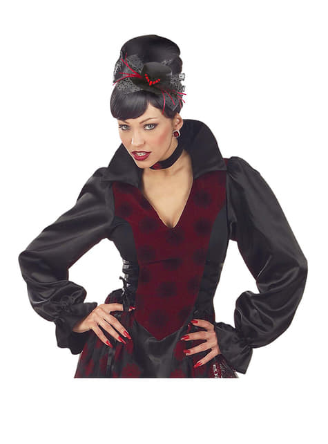 Mini sombrero de murciélago - para tu disfraz