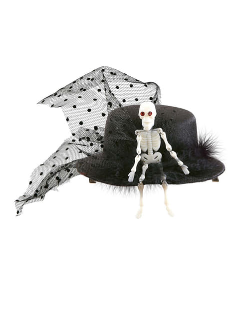 Mini Kapelusz szkielet