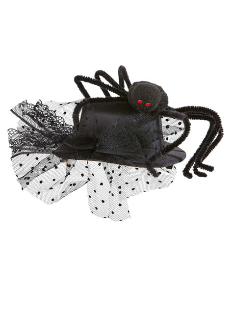Mini Kapelusz pająk