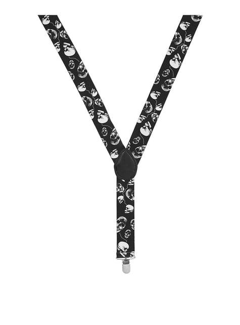 Black Braces with Skulls