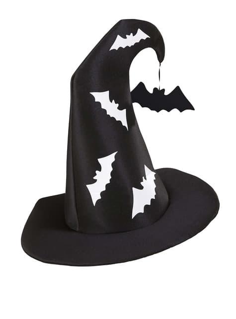 Відьма капелюх з кажанів
