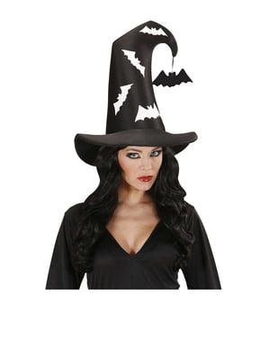 Pălărie de vrăjitoare lilieci