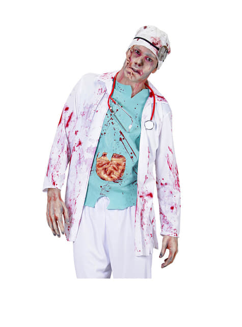 Bloody Zombie Doctor Costume