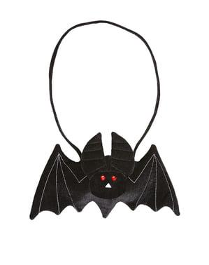 Halloweenská kabelka ve tvaru netopýra