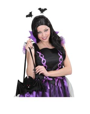 Geantă liliac Halloween
