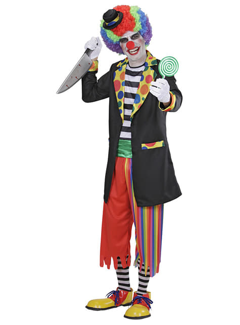 Déguisement de clown de terreur