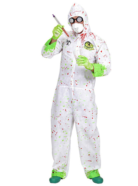 Mérgező Scientist Costume