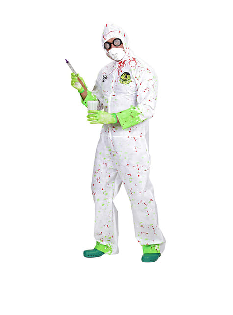 Toxic Scientist Costume