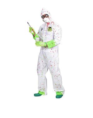 Giftig wetenschapper kostuum