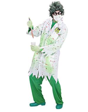 Zombie wetenschapper kostuum