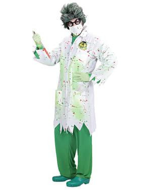 Disfraz de Zombie Científico