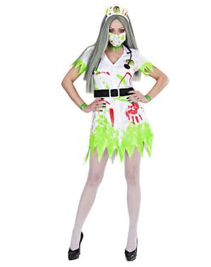 Nuklear-Krankenschwester Kostüm