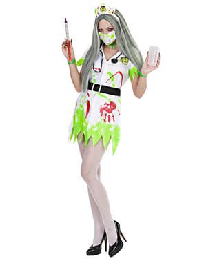Atom sjuksköterska Maskeraddräkt