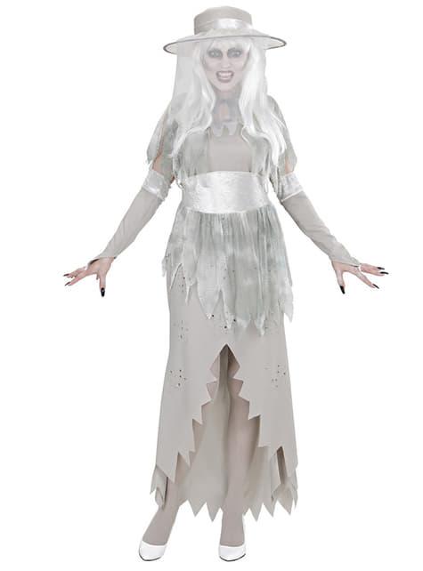 Disfraz de señorita fantasmal - mujer