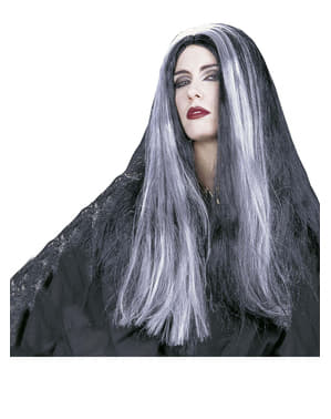 Perverse Morticia Wig
