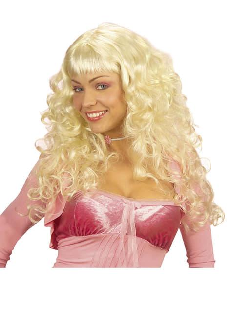 Andělská paruka platinová blond