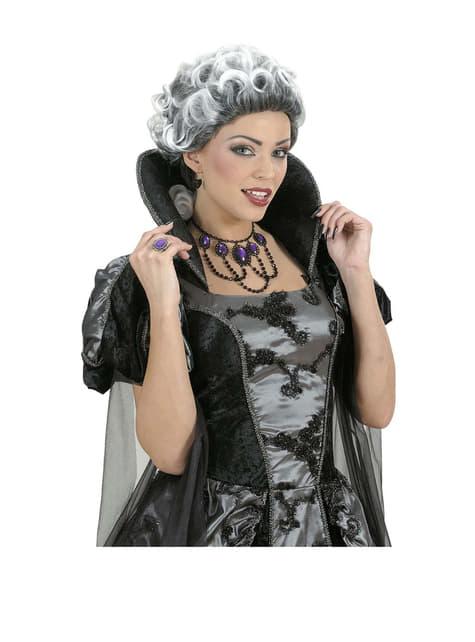 Peluca marqués gótico - para tu disfraz