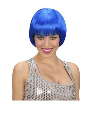 Rave Perücke blau
