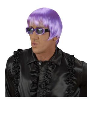 Parrucca Rave lilla