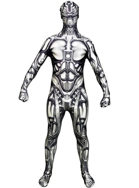 Přiléhavý oblek pro dospělé Android Monster
