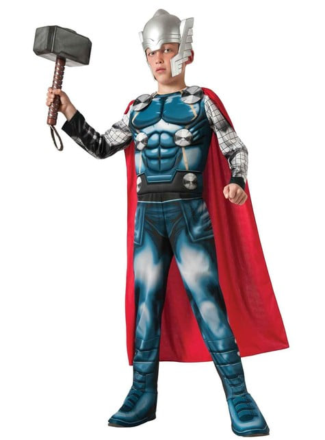 Thor The Advengers Aseemble deluxe Kostuum voor jongens