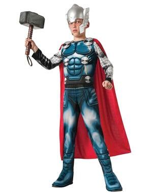 Thor Avengers Assemble delux kostyme barn