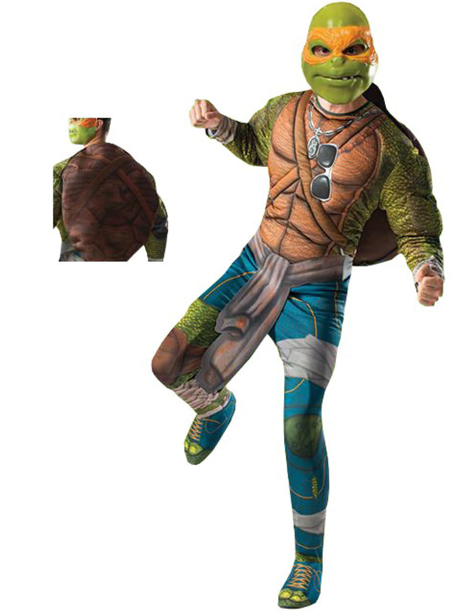 Michelangelo Ninja Turtles Movie Costume For An Adult The