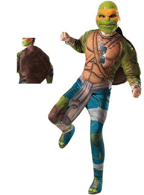 Disfraz de Michelangelo Tortugas Ninja Movie para adulto