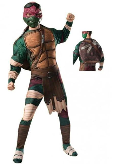 Fato de Raphael Tartarugas Ninja Filme para adulto