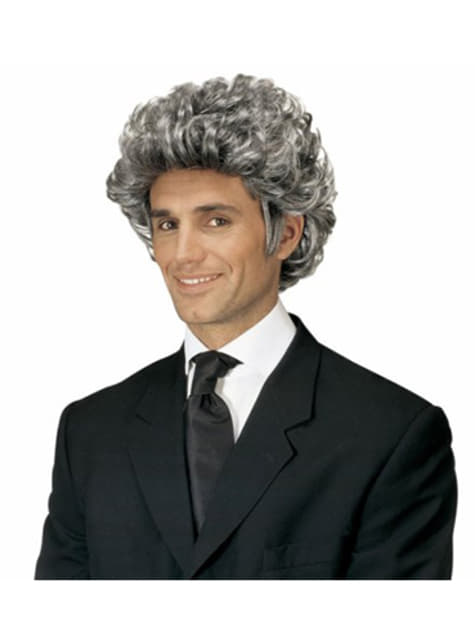 Voluminous Greying Wig