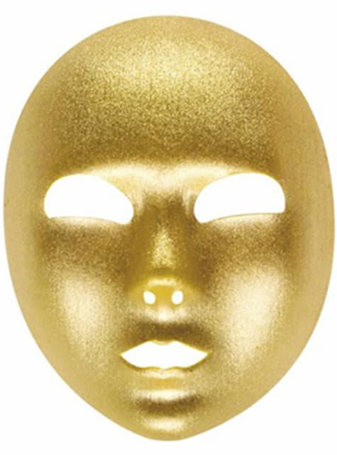 Mască aur
