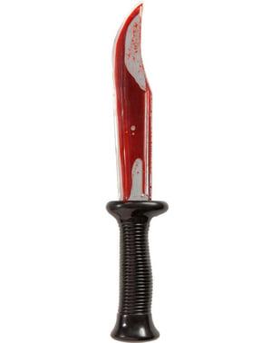 Pirátský nůž zakrvácený