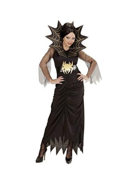 Disfraz de reina de las arañas talla grande