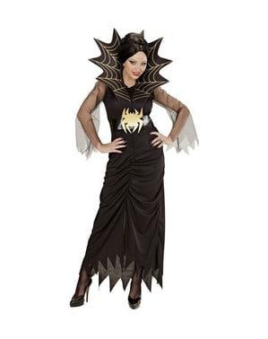 Koningin van de spinnen kostuum grote maat