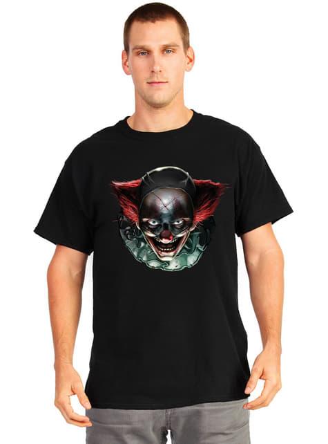 Camiseta de payaso con ojos diabólicos Digital Dudz