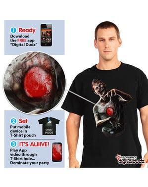 Ψηφιακό μπλουζάκι Dudz με το Beating Zombie Heart