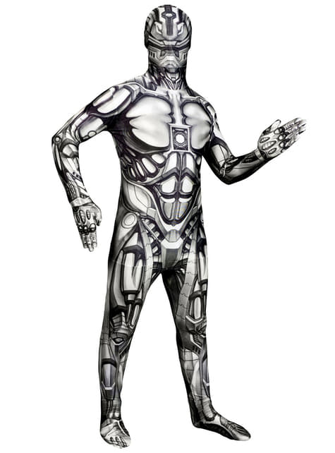 Kids Android Monster Morphsuit costume