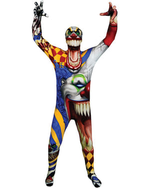 Monster Collection Clown Morphsuit Maskeraddräkt Barn