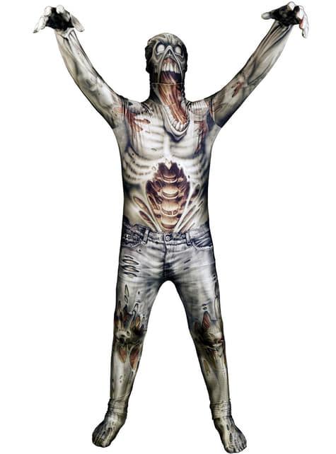 Zombie Monster Samling Morphsuit Kostyme Barn