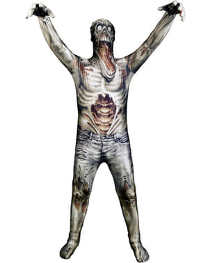 Monster Collection Zombie Morphsuit Maskeraddräkt Barn