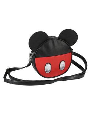 Mickey Mouse Rund Skuldertaske  Taske med Ører til Kvinder - Disney
