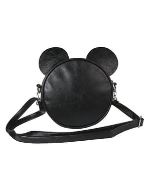 Mickey Mouse Round Crossbody Bag with Ears for Women - Disney