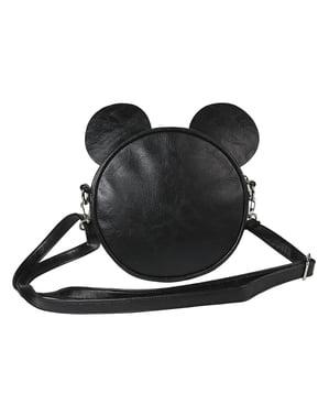 女性のための耳付きミッキーマウスラウンドクロスボディバッグ - ディズニー
