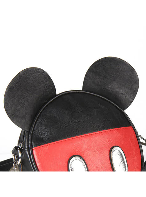 Bandolera de Mickey Mouse con orejas redonda para mujer - Disney - para verdaderos fans