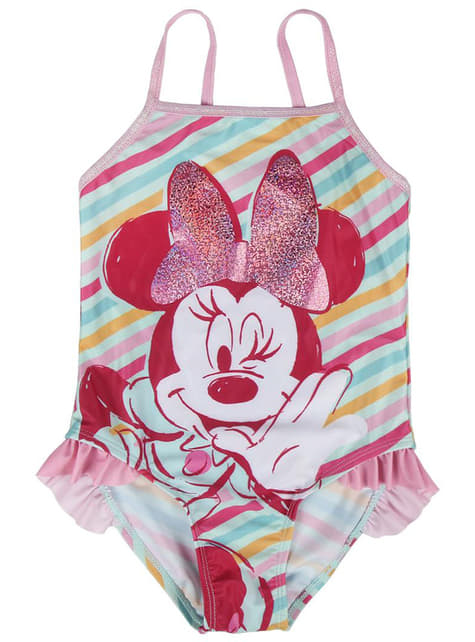 Bañador de Minnie Mouse para niña - Disney