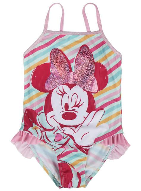 Costum de baie Minnie Mouse pentru fată – Disney