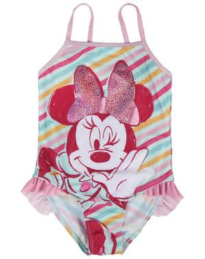 Fato de banho de Minnie Mouse para menina - Disney