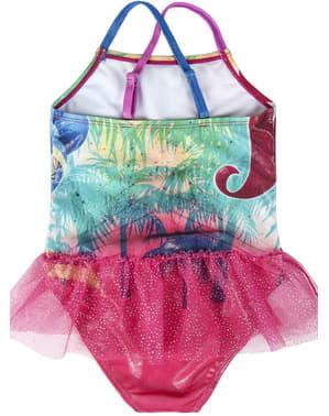 女の子のためのきらめきと輝きの水着