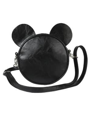 ミニーマウスラウンドクロスボディバッグ(女性用耳と弓) - ディズニー