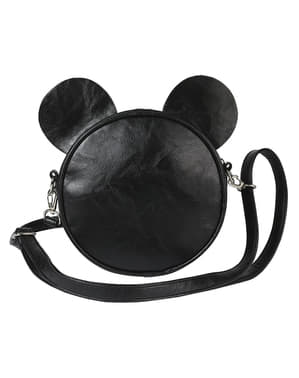 Minnie Mouse Round Crossbody Bag with Ears and Bow for Women - Disney